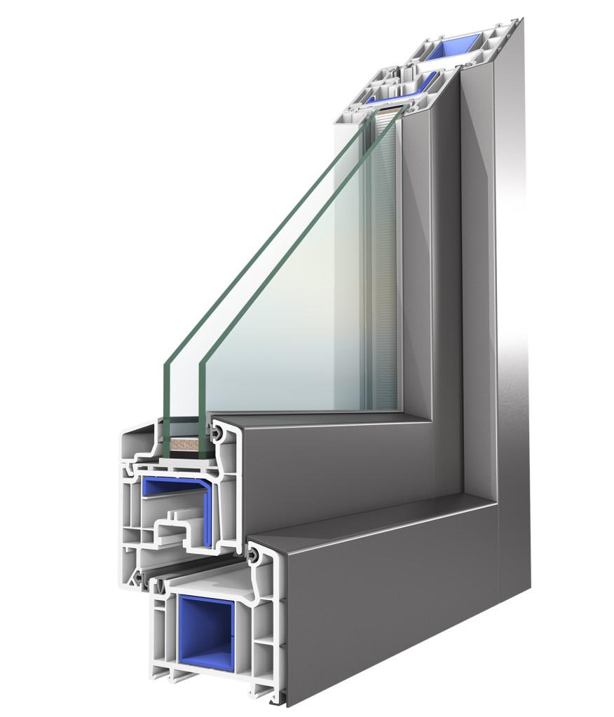 Koncept alluminio oknoplast